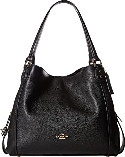 94abc05c0b Coach turnlock edie shoulder bag with quilting