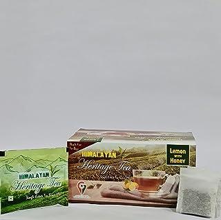 Himalayan Heritage's Lemon and Honey Tea Bags( 25 Tea Bags)