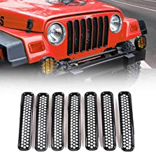 Best jeep wrangler tj grille inserts Reviews