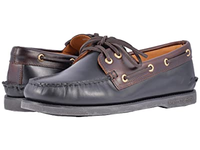 Sperry Gold Cup A/O 2-Eye (Black/Amaretto) Men