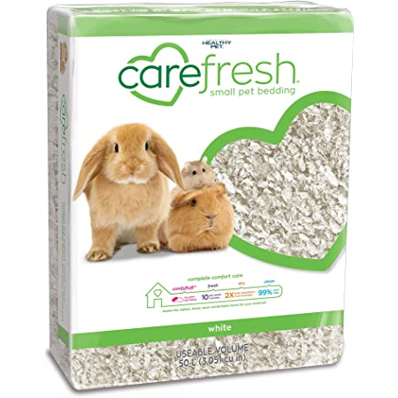 carefresh 99% Dust-Free Natural Paper Small Pet Bedding with Odor Control