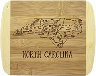 Totally Bamboo A Slice of Life North Carolina Bamboo Serving and Cutting Board