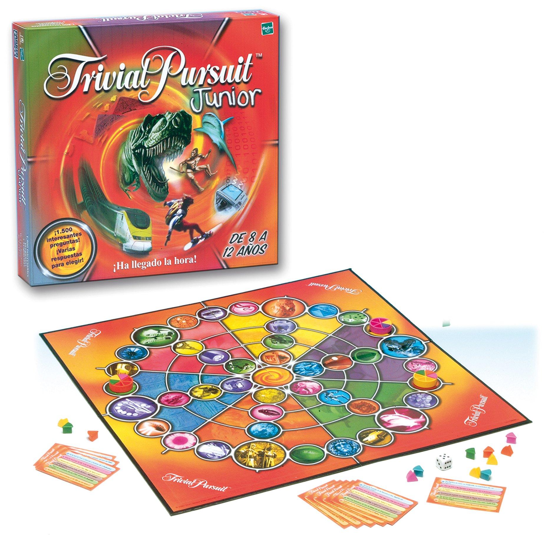 Hasbro Juegos de Adultos Trivial Junior 19607500: Amazon.es: Juguetes y juegos
