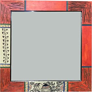 Aakriti Art Creations Handcrafted Decorative Wall Mirror