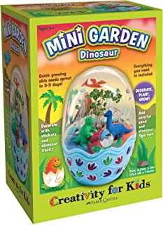 Creativity for Kids Mini Garden Kit – Dinosaur Egg Terrarium - Arts and Crafts for Boys and Girls