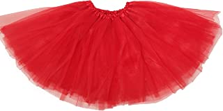 Basic Ballet Tutu - 3 Layers of Tulle - Red