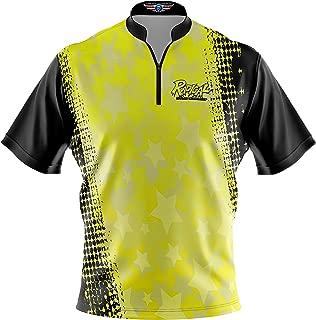 Logo Infusion Bowling Dye-Sublimated Jersey (Sash Collar) - Radical Style 0338 - Sizes S-3XL