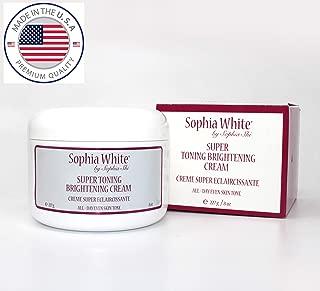 Sophia White Super Toning Brightening Cream 227g
