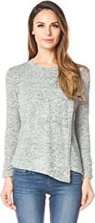 Women's Maternity Clothes Comfy Long Sleeves Breastfeeding Shirts and Nursing Tops