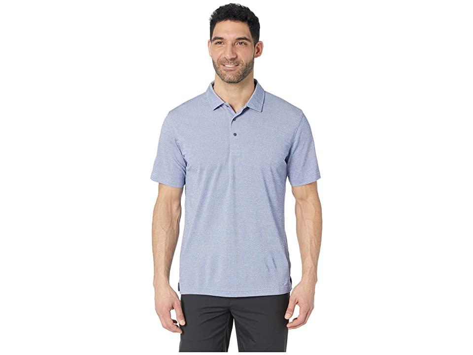 Image of PUMA Golf Grill To Green Polo (Surf the Web Heather) Men's Clothing