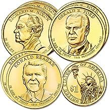2016 Various Mint Marks Presidential Dollar set Denver and Philadelphia mint 6 coins Uncirculated