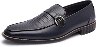 Missali | Genuine Leather Loafers | Men's Spring Dress Loafers | Office | Formal Slip-On Shoes for Men | Party | Wedding |...