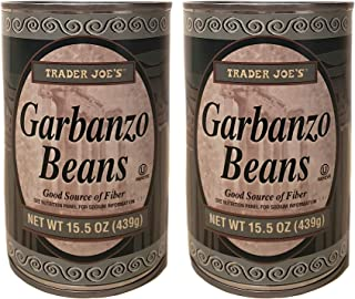 Trader Joe's Canned Garbanzo Beans - 2 Cans (15.5 oz)