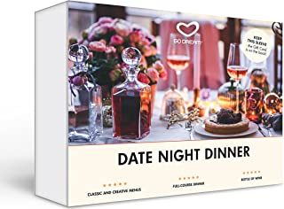 Date Night Dinner in New York Gift Experience Card NYC - GO DREAM - Sent in a Gift Package
