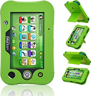 LeapPad Ultimate Case, ACdream Leather Tablet Case for LeapPad ACdream Kids Learning Tablet(2017 Release), (Green)