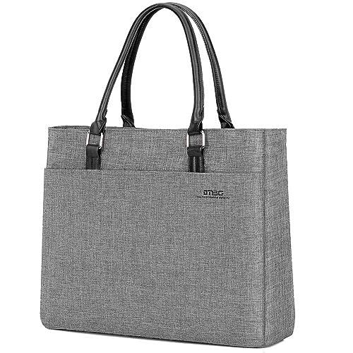 2df1a0a24eaa DTBG Laptop Tote Bag, 15.6 Inch Women Shoulder Bag Nylon Briefcase Casual Handbag  Laptop Case