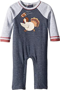 Thanksgiving Turkey Football One-Piece Playwear (Infant)