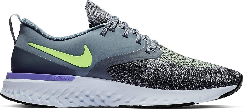 Nike Odyssey React Flyknit 2 Armory Blau Lime Lime Lime Blast-schwarz-Sapphire 2019  927327