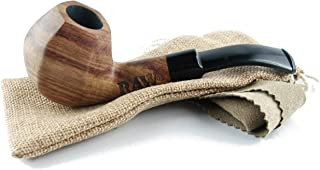 Raw Natural Pipe Uncoated Wooded Pipe Purest Natural Fibers Unrefined Rawthentic