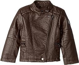 Buffalo Faux Leather Moto (Toddler)