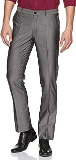 blackberrys Mens 4 Pocket Slub Formal Trousers