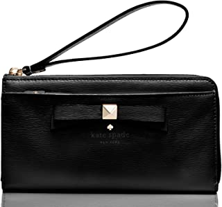 Beacon Court Layton Wallet Black Patent Leather