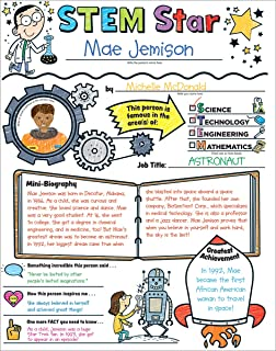 Personal Poster Set: STEM Star: Write-and-Read Learning Posters Ready for Kids to Display With Pride!