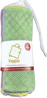 10 Bolsas Ecologicas Para Frutas,Verduras,Supermercado, Bols