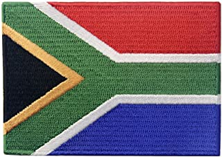 South Africa Flag Embroidered African Emblem Iron On Sew On National Patch
