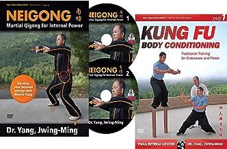Bundle: Kung Fu Body and Neigong DVDs (YMAA) Kung Fu Qigong and Meditation by Dr. Yang, Jwing-Ming