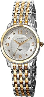 Women's AS8133TTG Analog Display Swiss Quartz Two Tone Watch