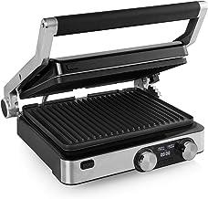 Princess 117310 Digital Grill Master Pro – 2 regelbare thermostaten – Digitaal bedieningspaneel, zwart