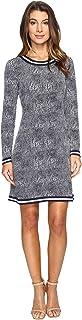 [マイケル マイケルコース] MICHAEL Michael Kors レディース Zephyr Border Dress ドレス True Navy MD [並行輸入品]