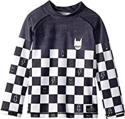 Checker Dye Rashie (Toddler/Little Kids/Big Kids)