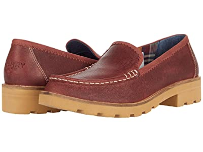 Sperry A/O Lug Loafer Galway Leather