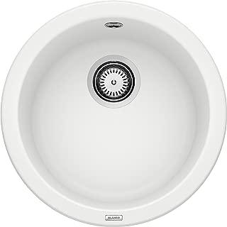 Blanco 铂浪高RONDO系列 厨房水槽 花岗岩水槽, 单槽,白色,511621