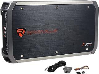 Rockville RXH-F5 3200 Watt Peak/1600w RMS 5 Channel Amplifier Car Stereo Amp