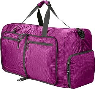 5 color 80L Large Lightweight Luggage Duffel bag Foldable Waterproof Travel bag Rolling Packable Gym Bag for man wonman