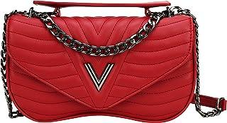 CUIBIRD Einfarbig Damenhandtasche Leder Damentaschen Frauen Taschen Lässig Schultertaschen Klein Umhängetasche Damen Tasche Stylischer Handtaschen Elegant Bags for Women Handtasche