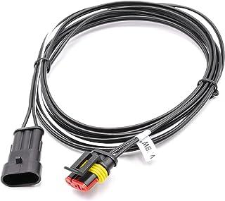 vhbw Cable transformador de bajo voltaje para robot cortacésped Husqvarna Automower 435X AWD, 440, 450X, 520, 535 AWD, 550, 3 m