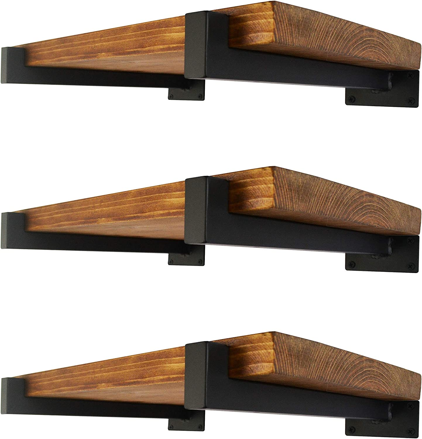 6 Pcs Floating Shelf Brackets Tucson Sales of SALE items from new works Mall Inch Heavy Mounted Duty Wall Ind