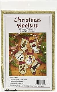 Rachel's Of Greenfield Christmas Woolens Ornament Kit-Set of Six