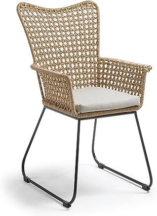 Amazon.es: sillones mimbre - Metal / Muebles: Hogar y cocina
