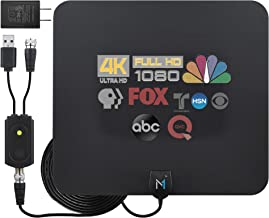 [Early Release 2022 Chip] HDTV Indoor Antenna Long Range 315 Mile Signal Reception; Hi-Power Amplified Antenna + 16.5 ft C...