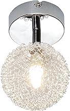 Reality R81321106 spots, 1 lamp, IP20, G9, eco-halogeen, 370 lumen, 2800 K, 230 V, chroom, 28 W