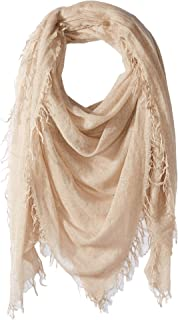 Chan Luu Womens Cashmere Silk Lurex Scarf