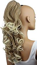 PRETTYSHOP Voluminosa corrugado peluca peluca trenza cola de caballo Cola de caballo fibra sintética 60cm rubio H64