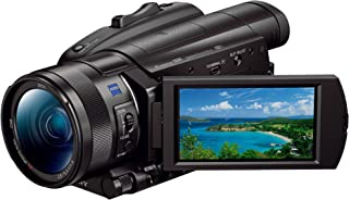 Sony Handycam FDR-AX700 - Videocámara 4K con Pantalla de 3.5 (HDR HLG CMOS Exmor RS apilado 1.0 Fast Hybrid AF Zoom HD 24x y Zoom 4K 18x estabilizador óptico WiFi NFC) Negro