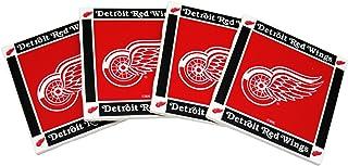 Boelter Brands NHL Detroit Red Wings 4-Pack Ceramic Coasters