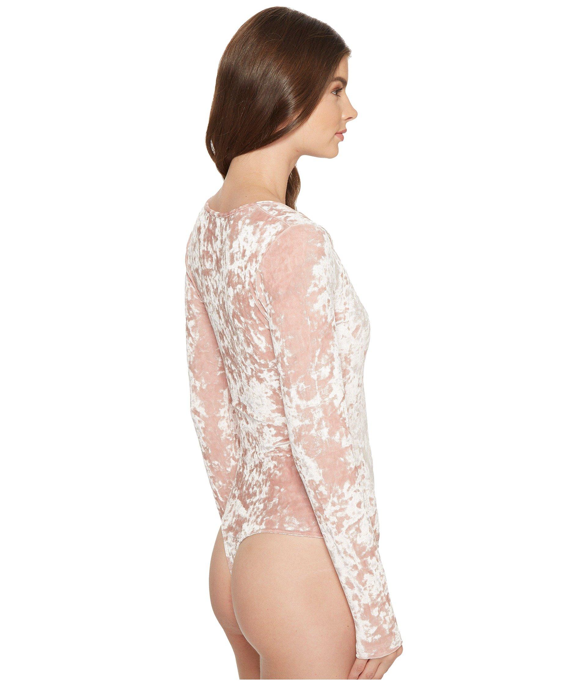 Cosabella Bisou Texture Thong Back Bodysuit